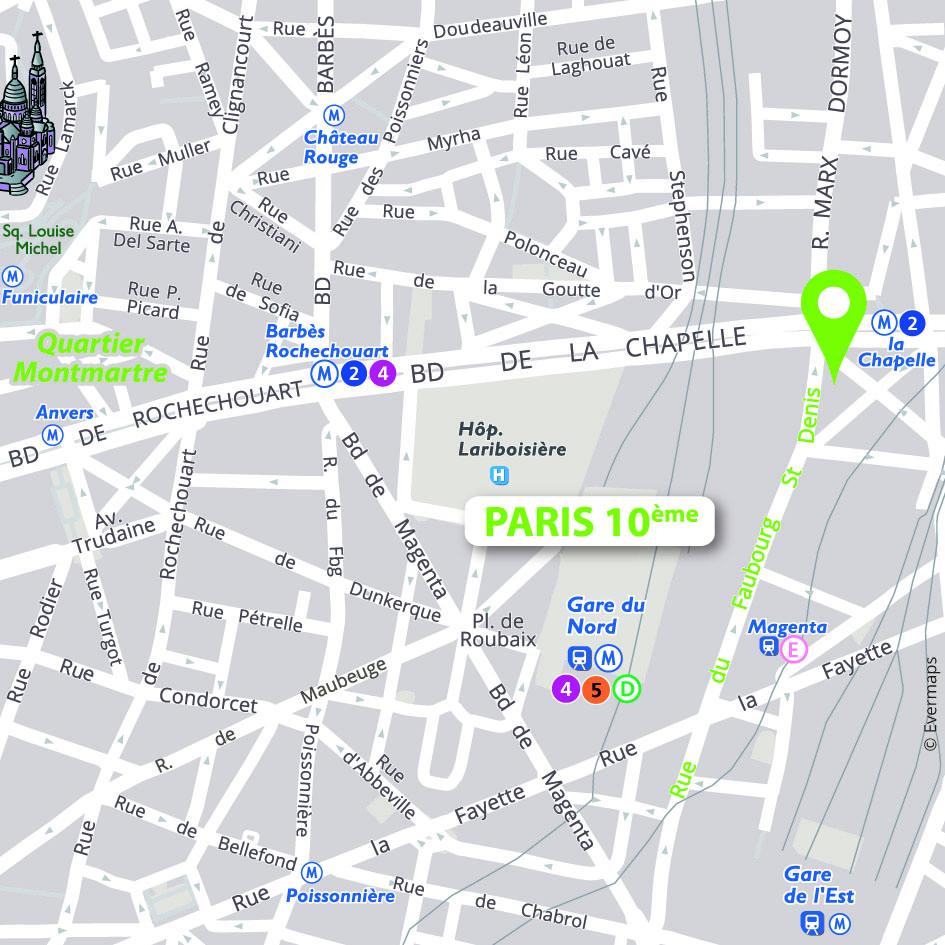 Gard Du Nord Paris Map.Access Sure Hotel By Best Western Paris Gare Du Nord Paris